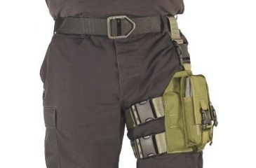 11-Specter Gear Double Magazine Pouch Tactical Thigh Rig for 30 Round 5.56mm M-16 / AR-15 Mags