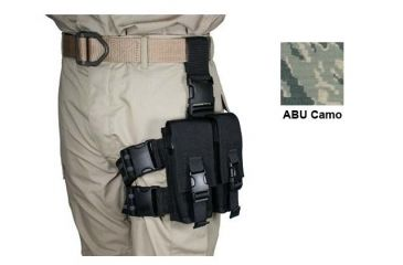 Specter Gear AR-15/M-16 Two 30 Rd Magazine Tactical Thigh Rig - Air Force Tiger Stripe