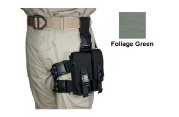 7-Specter Gear Double Magazine Pouch Tactical Thigh Rig for 30 Round 5.56mm M-16 / AR-15 Mags