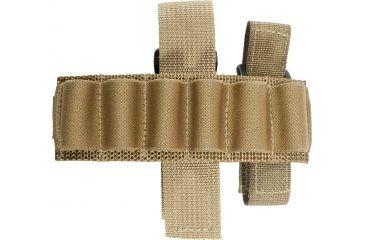 Specter Gear Buttstock 6 Shell Holder, Remington 870 & 11/87, Ambidextrous, Coyote Tan