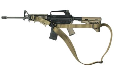 Specter Gear CQB Sling, M-4A1 with Magpul Collapsible Stock, Ambidextrous,Coyote 694 COY