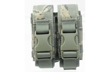 Specter Gear Tiger Stripe Double 40mm Grenade Pouch Molle Compatible 329-ABU