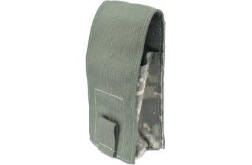 Specter Gear Double 30rd. 5.56mm Single Retention Magazine Pouch, MOLLE Compatible - ACU Camo
