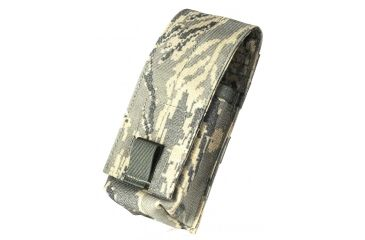 Specter Gear Double 30rd. 5.56mm Single Retention Magazine Pouch, MOLLE Compatible - Air Force Tiger Stripe, 309-ABU