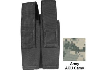 Specter Gear Modular 9mm SMG 30rd. Mag Pouch, Holds 2 - ACU Camo, 336-ACU