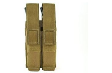 Specter Gear Modular 9mm SMG 30rd. Mag Pouch, Holds 2 - Coyote Tan, 336-COY