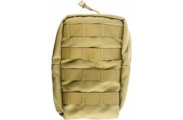 Specter Gear Modular GP Utility Pouch, Medium - Vertical, MOLLE Compatible Coyote