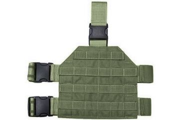 2-Specter Gear MOLLE/PALS Compatible Standard Format Tactical Thigh Rig