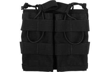Specter Gear Modular Rapid Reload 2 Mag MOLLE Pouch, Single, Black 472BLK