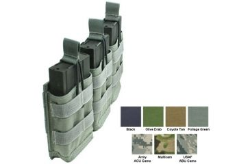 Specter Gear Modular Triple 7 62nato 20rd Rapid Reload Mag Pouch Holds 3 Abu 440abu