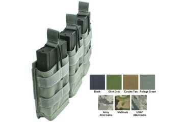 Specter Gear Modular Triple 7 62nato 20rd Rapid Reload Mag Pouch Holds 3 Black 440blk