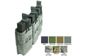 Specter Gear Modular Triple 7 62nato 20rd Rapid Reload Mag Pouch Holds 3 Coyote 440coy