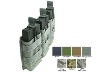 Specter Gear Modular Triple 7 62nato 20rd Rapid Reload Mag Pouch Holds 3 Foliage Green 440fg