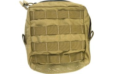 Specter Gear Modular Utility Pouch, Mesh bottom, MOLLE Compatible - Coyote, 357-COY