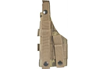 Specter Gear Molle Tactical Holster, Springfield XD Service 9mm, 4 Barrel, MultiCam 598-MULT