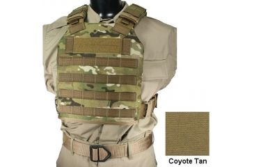 Specter Gear MPC-2 Modular Plate Carrier V2,Coyote 721 COY