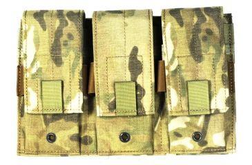 Specter Gear Triple Universal Rifle, Carbine, SMG Magazine Pouch, MOLLE Compatible - MultiCam, 273-MULT