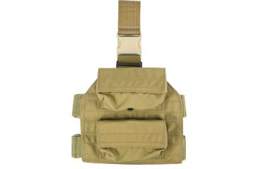 Specter Gear Shot Shell Tactical Thigh 12 Gauge Pouch, Coyote Tan 105-COY