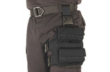 Specter Gear Shot Shell Tactical Thigh Pouch (holds 20 12ga. shells) Black