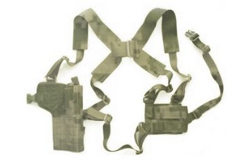9-Specter Gear Vertical Shoulder Holster w/ Double Pistol Mag Pouch, M9 / Beretta 92F