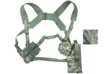10-Specter Gear Vertical Shoulder Holster w/ Double Pistol Mag Pouch, M9 / Beretta 92F