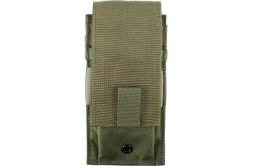 Specter Gear Single Universal Rifle Magazine Pouch, MOLLE Compatible - OD Green