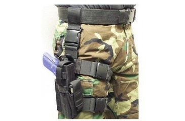 Specter Gear Tactical Thigh Holster, Sig P226 / P220, 4.4 bbl, Right Hand -Black