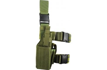 Specter Gear Tactical Thigh Holster, Right, OD Green 607RHOD