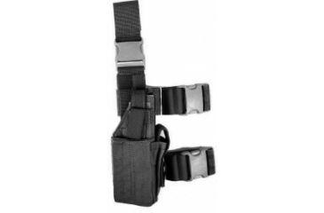Specter Gear Universal Tactical Thigh Holster - Right Hand, Black 607 RH-BLK