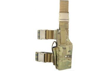 Specter Gear Universal Tactical Thigh Holster - Left Hand, MultiCam 607 LH-MULT