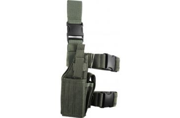 Specter Gear Universal Tactical Thigh Holster - Right Hand, Foliage Green 607 RH-FG
