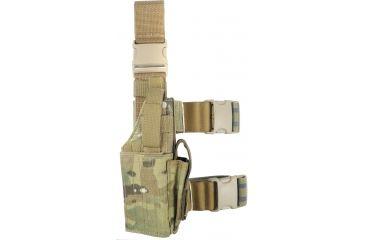 Specter Gear Universal Tactical Thigh Holster - Right Hand, MultiCam 607 RH-MULT
