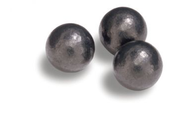 Speer .530 Diameter 224 Grain Swaged Lead Round Balls 5142