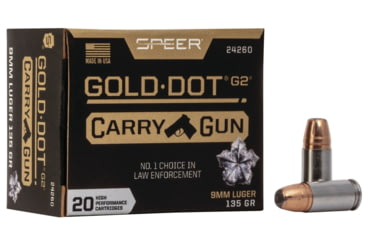 Speer Gold Dot Carry Gun
