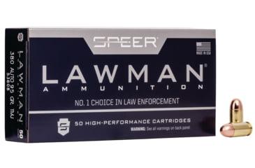 Speer Lawman Handgun Training