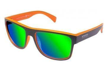 edaf1d2da2cfa Sperry Top-Sider SHELTER ISLAND Sunglasses - Frame GREY   ORANGE