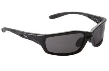 Sport Rx Streak Single Vision Rx Sunglasses - Black Frame, Large STREAK