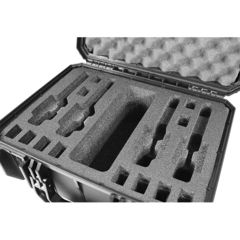 SportLock Quick Draw Foam Fitted Pistol Case, Black, 18x15x8in 00047