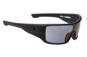 Spy Optic Carbine Sunglasses w/ Matte Black Frame & Grey Polarized Lens