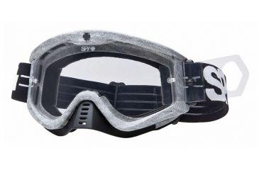 spy optic clear tear offs 3rd clip for targa mini motocross goggles 050889183001