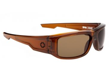 Spy Optic Colt Sunglasses - Brown Ale Frame and Bronze Lens 673037139069