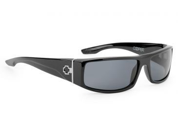 9a46ae69482 Spy Optic Cooper Single Vision Prescription Sunglasses - Black Frame  570195062000RX