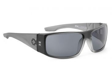 Spy Optic Cooper XL Sunglasses w/ Black Ice & Grey Lens