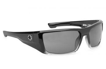 775d6ab091782 Spy Optic Dirk Sunglasses w  Black Fade Frame   Grey Lens