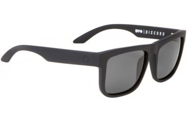 Spy Optic Discord Sunglasses - Matte Black Frame and Grey Polarized  Lens 673036374135
