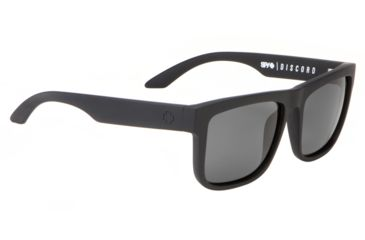 Spy Optic Discord Sunglasses - Matte Black Frame and Grey Lens 673036374129