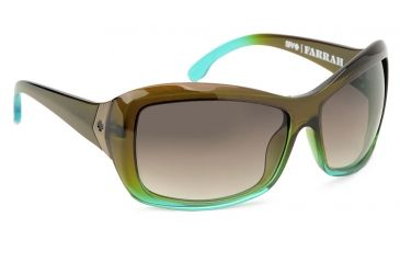 Spy Optic Farrah Single Vision Prescription Sunglasses - Mint Chip Fade Frame 573011412000RX