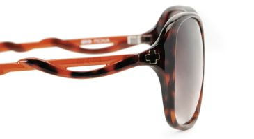 Spy Optic Fiona Single Vision Prescription Sunglasses - Classic Tortoise w/ Clear Brown Frame 570299468000RX