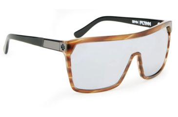 Spy Optic Flynn Sunglasses w/ Cedar Black Frame & Grey Black Mirror Lens