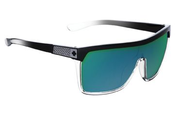 Spy Optic Flynn Sunglasses w/ Classic Fade Frame & Grey Green Spectra Lens